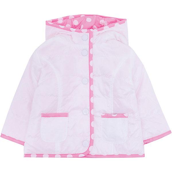 Куртка Original Marines для девочкиВерхняя одежда<br>Характеристики товара:<br><br>• цвет: розовый/белый;<br>• пол: девочка<br>• ткань верха: полиэстер 100%;<br>• наполнитель (волокно): полиэстер 100%;<br>• подкладка: полиэстер 100%;<br>• сезон: демисезон;<br>• температурный режим: от +10°С;<br>• капюшон;<br>• застежка: на кнопках;<br>• тип куртки: стеганая, двусторонняя;<br>• страна бренда: Италия.<br><br>Двустороняя модная детская куртка Original Marines , выполненная в нежном розовом цвете, может стать отличным вариантом удобной одежды для прохладной погоды. Куртка немного удлиненной модели, поэтому она комфортно сидит, согревая талию. Современный дизайн и комфорт непримерно понравятся вашему ребенку. <br><br>Двусторонюю куртку Original Marines (Ориджинал Маринс) для девочки можно купить в нашем интернет-магазине.<br>Ширина мм: 356; Глубина мм: 10; Высота мм: 245; Вес г: 519; Цвет: разноцветный; Возраст от месяцев: 0; Возраст до месяцев: 3; Пол: Женский; Возраст: Детский; Размер: 56/62,62/68,86,80,68/74; SKU: 8384241;