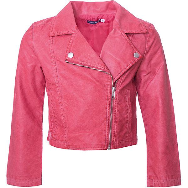 Купить Куртка Original Marines для девочки, Китай, красный, 92, 122, 116, 110, 104, 98, Женский