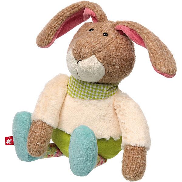 Sigikid Мягкая игрушка Sigikid Лоскутки Кролик, 28 см мягкая игрушка олень chl 500dr 28 см