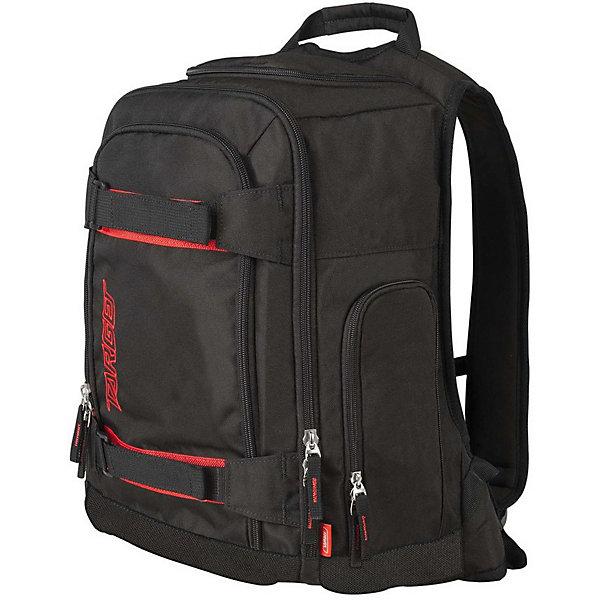 """Рюкзак Target Collection CarbonРюкзаки<br>Характеристики:<br><br>• возраст от: 6 лет;<br>• цвет: черный/красный;<br>• материал: полиэстер;<br>• размер: 45х35х20 см.;<br>• объем рюкзака: большой ( 30 л.);<br>• вес рюкзака: 900 гр.;<br>• тип рюкзака: универсальный;<br>• отделение для ноутбука;<br>• карман с сеткой;<br>• ремни для скейтборда;<br>• спинка: жесткая;<br>• тип застёжки: молния;<br>• количество отделений: 1 отделение;<br>• количество карманов: 4 внешних;<br>• плотная ручка в верхней части;<br>• усиленное дно;<br>• износостойкая обивка;<br>• регулируемые анатомические лямки;<br>• стильный дизайн;<br>• светоотражающие элементы;<br>• бренд, страна бренда: Target Collection, Словения.<br><br>Городской рюкзак CARBON от Target Collection создан для того, чтобы обеспечить активный и современный образ жизни. Его по настоящему оценят любители активных видов спорта. Главное отличие – наличие ремней для крепления скейтборда. Застегивается на молнию. Рюкзак имеет одно большое основное отделение вмещаемое ноутбук до 15"""", передний карман, карман для бутылки воды, верхняя ручка для переноски, отверстие для наушников, застегивается на молнию, несколько внутренних карманов. Светоотражающие вставки сделают ребенка более заметным на дороге в темное время суток. <br><br>Рюкзак подходит для школы, а также для занятий спортом и проведения досуга. Рюкзак выполнен из высококачественного и водонепроницаемого материала. Данная модель выполнена в ярком сочетании цветов, имеет прекрасную эргономику и инновационный стильный дизайн.<br><br>Городской рюкзак CARBON от Target Collection, черный/красный, можно купить в нашем интернет-магазине.<br>Ширина мм: 450; Глубина мм: 350; Высота мм: 200; Вес г: 900; Цвет: черный/розовый; Возраст от месяцев: 72; Возраст до месяцев: 192; Пол: Унисекс; Возраст: Детский; SKU: 8392068;"""