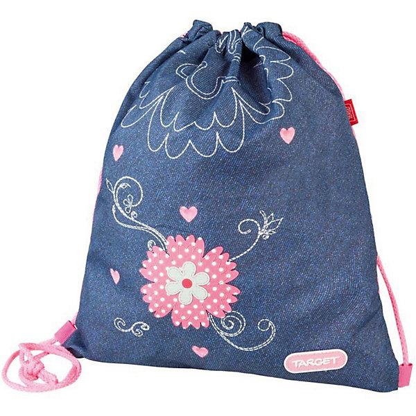 Target Collection Мешок для обуви Target Collection Джинсовые цветы