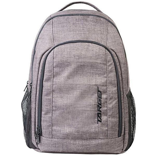 Рюкзак Target Collection XY 6Рюкзаки<br>Характеристики:<br><br>• возраст от: 6 лет;<br>• цвет: серый;<br>• материал: полиэстер;<br>• размер: 45х35х20 см.;<br>• объем рюкзака: большой ( 30 л.);<br>• вес рюкзака: 1 кг.;<br>• тип рюкзака: повседневный;<br>• ососбенности: отделение для ноутбука;<br>• спинка: ортопедическая;<br>• тип застёжки: молния;<br>• количество отделений: 3 отделения;<br>• количество карманов: 2 внутренних/ 2 боковых;<br>• дополнительная ручка-петля;<br>• износостойкая обивка выдержит любую погоду и прослужит не один год;<br>• регулируемые укрепленные лямки;<br>• стильный дизайн;<br>• бренд, страна бренда: Target Collection, Словения.<br><br>Городской рюкзак XY 6 от Target Collection выполнен из высококачественного полиэстера. Подходит для школы, так и для отдыха. Имеет петлю для подвешивания и две удобные регулируемые лямки. У него три больших отделения, которые закрываются на молнию. По бокам имеются два кармана на резинке. Лицевая сторона дополнена нашивкой-логотипом.<br><br>Легкий, функциональный и практичный - такой рюкзак станет надежным аксессуаром на каждый день. Рюкзаки от Target Collection наилучшим образом подчеркнут вашу креативность, индивидуальность и неповторимый стиль!<br><br>Городской рюкзак XY 6 от Target Collection , серый, можно купить в нашем интернет-магазине.<br>Ширина мм: 450; Глубина мм: 350; Высота мм: 200; Вес г: 1000; Цвет: серый; Возраст от месяцев: 156; Возраст до месяцев: 1188; Пол: Унисекс; Возраст: Детский; SKU: 8392135;
