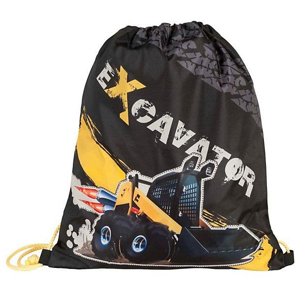 Купить Мешок для обуви Target Collection Экскаватор 2 , Словения, черный/серый, Мужской