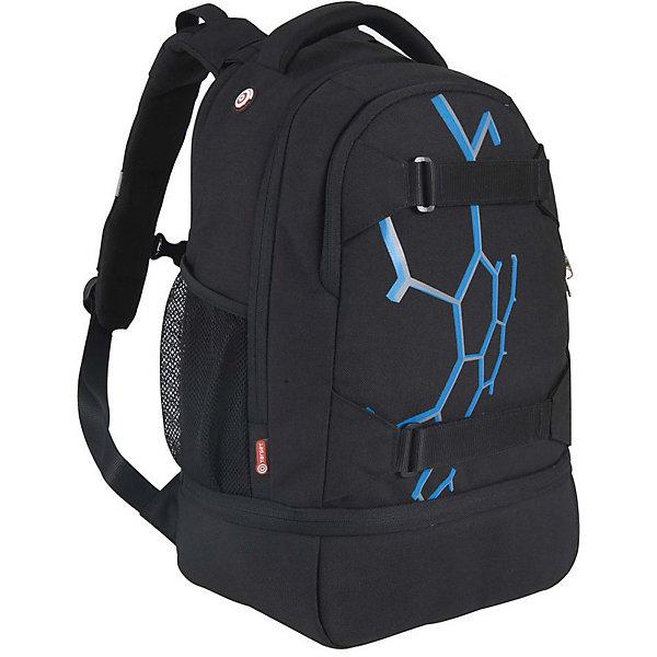 Рюкзак Target Collection Exo Sky 2Рюкзаки<br>Характеристики:<br><br>• возраст от: 6 лет;<br>• цвет: черный;<br>• материал: полиэстер;<br>• размер: 40х30х20 см.;<br>• объем рюкзака: большой ( 32 л.);<br>• вес рюкзака: 900 гр.;<br>• тип рюкзака: универсальный;<br>• отделение для ноутбука;<br>• карманы с сеткой;<br>• спинка: мягкая;<br>• тип застёжки: молния;<br>• количество отделений: 2 отделения;<br>• количество карманов: 3 внешних;<br>• плотная ручка в верхней части;<br>• усиленное дно;<br>• износостойкая обивка;<br>• регулируемые анатомические лямки;<br>• стильный дизайн;<br>• светоотражающие вставки;<br>• бренд, страна бренда: Target Collection, Словения.<br><br>Городской рюкзак EXO SKY - 2 от Target Collection создан для того, чтобы обеспечить активный и современный образ жизни. Рюкзак содержит два внутренних отделения, карман на лицевой стороне и два боковых кармана-сетки. Вмещает в себя ноутбук диагональю 15 дюймов. Рюкзак имеет мягкую заднюю панель, регулируемые мягкие плечевые ремни и застежку между ними. Прочная верхняя ручка позволяет носить рюкзак в руке. Светоотражающие вставки сделают ребенка более заметным на дороге в темное время суток.<br><br>Вместительный рюкзак подходит для школы, а также для занятий спортом и проведения досуга. Рюкзак выполнен из высококачественного и водонепроницаемого материала. Данная модель выполнена в практичном цвете, имеет прекрасную эргономику и инновационный стильный дизайн.<br><br>Городской рюкзак EXO SKY - 2 от Target Collection, зеленый, можно купить в нашем интернет-магазине.<br>Ширина мм: 470; Глубина мм: 300; Высота мм: 200; Вес г: 900; Цвет: черный; Возраст от месяцев: 72; Возраст до месяцев: 192; Пол: Унисекс; Возраст: Детский; SKU: 8392195;