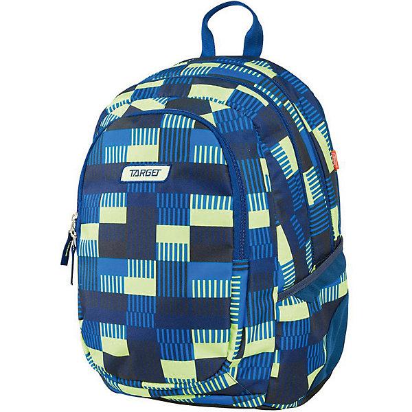 Рюкзак школьный 3 zip Target Collection AlloverРюкзаки<br>Характеристики:<br><br>• возраст от: 6 лет;<br>• цвет: синий/принт;<br>• материал: полиэстер;<br>• размер: 41х32х18 см.;<br>• объем рюкзака: средний ( 20 -30 л.);<br>• вес рюкзака: 1 кг.;<br>• тип рюкзака: повседневный;<br>• наполнение: органайзер для принадлежностей;<br>• ососбенности: отделение для ключей, укрепленное дно;<br>• спинка: ортопедическая;<br>• тип застёжки: молния;<br>• количество отделений: 2 основных отделения.;<br>• количество карманов: 1 внешних/ 2 внутренних/ 2 боковых;<br>• дополнительная ручка-петля;<br>• износостойкая обивка выдержит любую погоду и прослужит не один год;<br>• регулируемые укрепленные лямки;<br>• стильный дизайн;<br>• бренд, страна бренда: Target Collection, Словения.<br><br>Рюкзак 3 zip ALLOVER от Target Collection выполнен из высококачественного полиэстера. Имеет петлю для подвешивания и две удобные лямки, длина которых регулируется с помощью пряжек. Изделие имеет 2 больших отделения на молнии. На внешней стороне рюкзака расположен большой накладной карман. По бокам имеются два кармана на резинке. Бегунки на застежках дополнены удобными тканевыми держателями<br><br>Легкий и функциональный рюкзак выполнен в ярком синем цвете с оригинальным принтом, он станет надежным спутником во время путешествий и повседневной носке. Рюкзак износостойкий, легко чистится и не требует бережного ухода.<br><br>Рюкзак 3 zip ALLOVER  от Target Collection, синий/принт, можно купить в нашем интернет-магазине.<br>Ширина мм: 410; Глубина мм: 320; Высота мм: 180; Вес г: 1000; Цвет: синий; Возраст от месяцев: 72; Возраст до месяцев: 192; Пол: Унисекс; Возраст: Детский; SKU: 8392201;