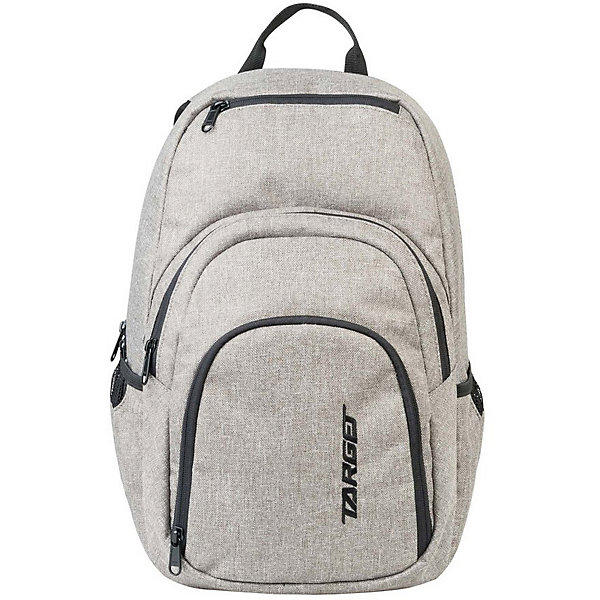 Рюкзак Target Collection XY 3Рюкзаки<br>Характеристики:<br><br>• возраст от: 6 лет;<br>• цвет: светло-серый;<br>• материал: полиэстер;<br>• размер: 45х35х20 см.;<br>• объем рюкзака: большой ( 30 л.);<br>• вес рюкзака: 1 кг.;<br>• тип рюкзака: повседневный;<br>• ососбенности: отделение для ноутбука;<br>• спинка: ортопедическая;<br>• тип застёжки: молния;<br>• количество отделений: 3 отделения;<br>• количество карманов: 2 внутренних/ 2 боковых;<br>• дополнительная ручка-петля;<br>• износостойкая обивка выдержит любую погоду и прослужит не один год;<br>• регулируемые укрепленные лямки;<br>• стильный дизайн;<br>• бренд, страна бренда: Target Collection, Словения.<br><br>Городской рюкзак XY 3 от Target Collection выполнен из высококачественного полиэстера. Подходит для школы, так и для отдыха. Имеет петлю для подвешивания и две удобные регулируемые лямки. У него три больших отделения, которые закрываются на молнию. По бокам имеются два кармана на резинке. Лицевая сторона дополнена нашивкой-логотипом.<br><br>Легкий, функциональный и практичный - такой рюкзак станет надежным аксессуаром на каждый день. Рюкзаки от Target Collection наилучшим образом подчеркнут вашу креативность, индивидуальность и неповторимый стиль!<br><br>Городской рюкзак XY 3 от Target Collection , светло-серый, можно купить в нашем интернет-магазине.<br>Ширина мм: 450; Глубина мм: 350; Высота мм: 200; Вес г: 1000; Цвет: серый; Возраст от месяцев: 72; Возраст до месяцев: 192; Пол: Унисекс; Возраст: Детский; SKU: 8392221;