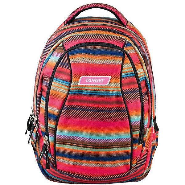 Купить Рюкзак школьный 2 в 1 Target Collection Allover 4 , Словения, розовый/розовый, Унисекс