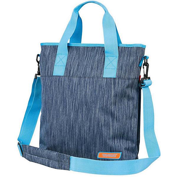 Сумка Target Collection ТитаниумШкольные сумки<br>Характеристики:<br><br>• возраст от: 6 лет;<br>• цвет: синий;<br>• материал: полиэстер;<br>• размер сумки: 37х34х5 см.;<br>• объем рюкзака: маленький ( до 10 л..);<br>• вес: 600 гр;<br>• тип: повседневный;<br>• ососбенности: наплечный ремень;<br>• тип застёжки: молния;<br>• количество отделений: 1 отделение.;<br>• 1 потайное отделение;<br>• ручка-петля;<br>• износостойкая обивка выдержит любую погоду и прослужит не один год;<br>• стильный дизайн;<br>• бренд, страна бренда: Target Collection, Словения.<br><br>Городская сумка Титаниум от Target Collection выполнена из высококачественного полиэстера. Имеет одну удобную лямку и съемный наплечный ремень. У нее одно большое отделение, которое закрывается на молнию. Внутри имеется потайное отделение для документов и ключей.<br><br>Легкая и практичная сумка выполнена в синем цвете, станет не только стильным аксессуаром, но и надежным спутником во время путешествий и повседневной носке. Сумка износостойкая, легко чистится, быстро сохнет и не требует бережного ухода.<br><br>Городскую сумку Титаниум от Target Collection , синий, можно купить в нашем интернет-магазине.<br>Ширина мм: 370; Глубина мм: 340; Высота мм: 50; Вес г: 1000; Цвет: синий; Возраст от месяцев: 72; Возраст до месяцев: 192; Пол: Унисекс; Возраст: Детский; SKU: 8392353;