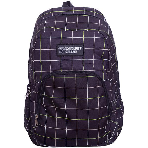 Рюкзак Target Collection SwellРюкзаки<br>Характеристики:<br><br>• возраст от: 6 лет;<br>• цвет: черный/клетка;<br>• материал: полиэстер;<br>• размер: 41х32х18 см.;<br>• объем рюкзака: средний ( 20-30 л.);<br>• вес рюкзака: 1 кг.;<br>• тип рюкзака: повседневный;<br>• спинка: ортопедическая;<br>• тип застёжки: молния;<br>• количество отделений: 1 отделение.;<br>• количество карманов: 1 внешний/ 2 внутренних/ 2 боковых;<br>• дополнительная ручка-петля;<br>• износостойкая обивка выдержит любую погоду и прослужит не один год;<br>• регулируемые укрепленные лямки;<br>• стильный дизайн;<br>• бренд, страна бренда: Target Collection, Словения.<br><br>Детский рюкзак SWELL от Target Collection имеет яркий рисунок и изготовлен из современных, прочных материалов. Имеет две удобные лямки, длина которых регулируется. У него одно большое отделения, которое закрывается на молнию. На внешней стороне рюкзака расположен большой накладной карман на молнии. По бокам имеются два кармана на резинке. Бегунки на застежках дополнены удобными тканевыми держателями. Ручка из плотной ткани в верхней части рюкзака сделает ношение в руке более удобным и комфортным.<br><br>Легкий и функциональный рюкзак станет надежным спутником во время путешествий и повседневной носке. Рюкзак износостойкий, легко чистится и не требует бережного ухода. Рюкзаки от Target Collection наилучшим образом подчеркнут вашу креативность, индивидуальность и неповторимый стиль!<br><br>Детский рюкзак SWELL от Target Collection , черный/клетка, можно купить в нашем интернет-магазине.<br>Ширина мм: 410; Глубина мм: 320; Высота мм: 180; Вес г: 1000; Цвет: черный; Возраст от месяцев: 72; Возраст до месяцев: 192; Пол: Унисекс; Возраст: Детский; SKU: 8392365;