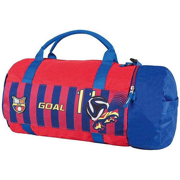 Купить Спортивная сумка Target Collection FC Barcelona , Словения, синий/красный, Мужской