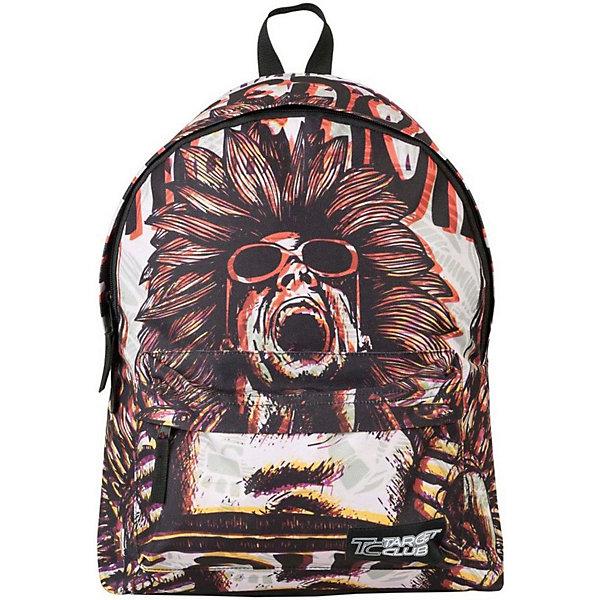 Рюкзак Target Collection CoolРюкзаки<br>Характеристики:<br><br>• возраст от: 6 лет;<br>• цвет: белый/черный;<br>• материал: полиэстер;<br>• размер: 43х31х18 см.;<br>• объем рюкзака: средний ( 20-30 л.);<br>• вес рюкзака: 700 гр.;<br>• тип рюкзака: универсальный;<br>• спинка: жесткая;<br>• тип застёжки: молния;<br>• количество отделений: 1 отделение;<br>• количество карманов: 1 внешний;<br>• ручка в верхней части;<br>• прочное и устойчивое дно;<br>• износостойкая обивка;<br>• регулируемые лямки;<br>• стильный дизайн;<br>• бренд, страна бренда: Target Collection, Словения.<br><br>Молодежный рюкзак COOL от Target Collection - это практичный и стильный аксессуар, который подчеркнет индивидуальность вашего ребенка. Рюкзак имеет яркий оригинальный принт и изготовлен из современных, прочных материалов. <br><br>У данной модели одно большое  отделения, которое закрывается  на молнию. На внешней стороне рюкзака расположен большой накладной карман  на молнии. Бегунки на застежках дополнены удобными тканевыми держателями. Снабжен плечевыми лямками, которые можно отрегулировать. Ручка из плотной ткани  в верхней части рюкзака сделает ношение в руке более удобным и комфортным. <br><br>Молодежный рюкзак COOL от Target Collection, белый/черный, можно купить в нашем интернет-магазине.<br>Ширина мм: 430; Глубина мм: 310; Высота мм: 180; Вес г: 700; Цвет: черный/белый; Возраст от месяцев: 72; Возраст до месяцев: 192; Пол: Унисекс; Возраст: Детский; SKU: 8392373;