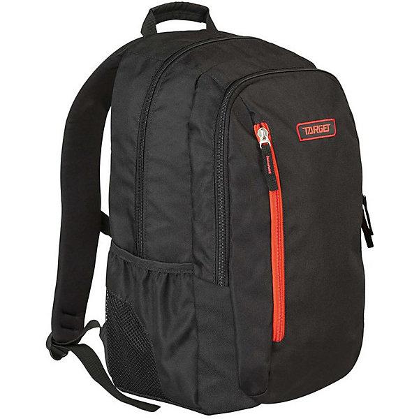 Рюкзак Target Collection Carbon 2Рюкзаки<br>Характеристики:<br><br>• возраст от: 6 лет;<br>• цвет: черный/красный;<br>• материал: полиэстер;<br>• размер: 47х31х22 см.;<br>• объем рюкзака: большой ( 32 л.);<br>• вес рюкзака: 900 гр.;<br>• тип рюкзака: универсальный;<br>• отделение для ноутбука;<br>• карманы с сеткой;<br>• спинка: мягкая;<br>• тип застёжки: молния;<br>• количество отделений: 2 отделения;<br>• количество карманов: 3 внешних;<br>• плотная ручка в верхней части;<br>• усиленное дно;<br>• износостойкая обивка;<br>• регулируемые анатомические лямки;<br>• стильный дизайн;<br>• светоотражающие вставки;<br>• бренд, страна бренда: Target Collection, Словения.<br><br>Городской рюкзак CARBON 2 от Target Collection создан для того, чтобы обеспечить активный и современный образ жизни. Рюкзак содержит два внутренних отделения, карман на лицевой стороне и два боковых кармана-сетки. Вмещает в себя ноутбук диагональю 15 дюймов. Рюкзак имеет мягкую заднюю панель, регулируемые мягкие плечевые ремни и застежку между ними. Прочная верхняя ручка позволяет носить рюкзак в руке. Светоотражающие вставки сделают ребенка более заметным на дороге в темное время суток.<br><br>Вместительный рюкзак подходит для школы, а также для занятий спортом и проведения досуга. Рюкзак выполнен из высококачественного и водонепроницаемого материала. Данная модель выполнена в ярком сочетании цветов, имеет прекрасную эргономику и инновационный стильный дизайн.<br><br>Городской рюкзак CARBON 2 от Target Collection, черный/красный, можно купить в нашем интернет-магазине.<br>Ширина мм: 470; Глубина мм: 310; Высота мм: 220; Вес г: 900; Цвет: черный/розовый; Возраст от месяцев: 72; Возраст до месяцев: 192; Пол: Унисекс; Возраст: Детский; SKU: 8392407;