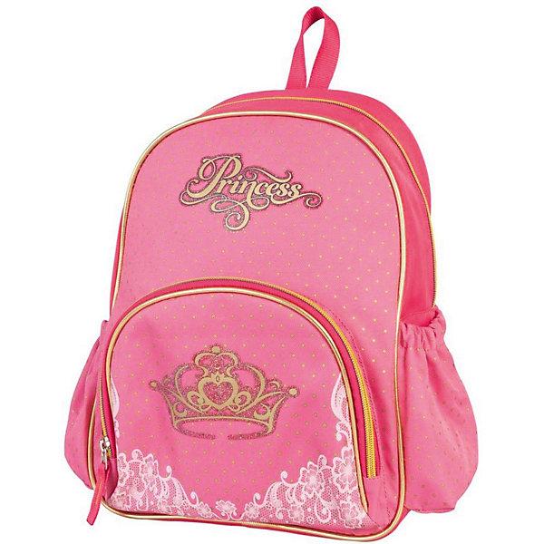 Детский рюкзак Target Collection ПринцессаДетские рюкзаки<br>Характеристики:<br><br>• возраст от: 6 лет;<br>• цвет:розовый;<br>• материал: полиэстер;<br>• размер: 34х28х12 см.;<br>• объем рюкзака: малый ( до 10 л.);<br>• вес рюкзака: 280 гр.;<br>• тип рюкзака: универсальный;<br>• тип застёжки: молния;<br>• количество отделений: 1;<br>• количество внешних карманов: 3;<br>• петля для подвешивания;<br>• износостойкая обивка;<br>• широкие регулируемые лямки;<br>• стильный дизайн;<br>• бренд, страна бренда: Target Collection, Словения.<br><br>Рюкзак малый Принцесса от Target Collection для девочки - это красивый и удобный аксессуар, который станет незаменимым спутником вашего ребенка на прогулках и путешествиях. В него легко уместятся любимые игрушки и полезные мелочи.<br><br>Модель оформлена ярким детским принтом и изготовлена из современных, прочных материалов. Состоит из одного отделения, закрывающегося на молнию. На лицевой стороне рюкзака расположен большой накладной карман, закрывающийся на застежку-молнию, а по бокам рюкзака два кармана на резинке. Бегунки на застежках дополнены удобными тканевыми держателями. Рюкзак снабжен регулируемыми по длине плечевыми ремнями и ручкой для переноски в руке.<br><br>Рюкзак малый Принцесса от Target Collection для девочки, розовый, можно купить в нашем интернет-магазине.<br>Ширина мм: 340; Глубина мм: 280; Высота мм: 120; Вес г: 280; Цвет: розовый/розовый; Возраст от месяцев: 72; Возраст до месяцев: 192; Пол: Женский; Возраст: Детский; SKU: 8392499;