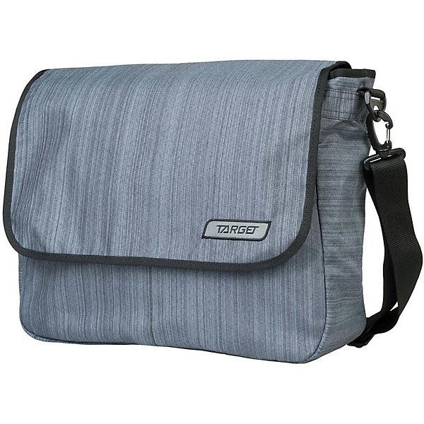 Сумка школьная Target Collection ЦинкШкольные сумки<br>Характеристики:<br><br>• возраст от: 6 лет;<br>• цвет: серый;<br>• материал: полиэстер;<br>• размер сумки: 37х34х5 см.;<br>• объем рюкзака: маленький ( до 10 л..);<br>• вес: 600 гр;<br>• тип: повседневный;<br>• ососбенности: наплечный ремень;<br>• тип застёжки: молния;<br>• количество отделений: 1 отделение.;<br>• 1 потайное отделение;<br>• ручка-петля;<br>• износостойкая обивка выдержит любую погоду и прослужит не один год;<br>• стильный дизайн;<br>• бренд, страна бренда: Target Collection, Словения.<br><br>Городская сумка Цинк от Target Collection выполнена из высококачественного полиэстера. Имеет одну удобную лямку и съемный наплечный ремень. У нее одно большое отделение, которое закрывается на молнию. Внутри имеется потайное отделение для документов и ключей.<br><br>Легкая и практичная сумка выполнена в сером цвете, станет не только стильным аксессуаром, но и надежным спутником во время путешествий и повседневной носке. Сумка износостойкая, легко чистится, быстро сохнет и не требует бережного ухода.<br><br>Городскую сумку Цинк от Target Collection , серый, можно купить в нашем интернет-магазине.<br>Ширина мм: 370; Глубина мм: 340; Высота мм: 50; Вес г: 1000; Цвет: серый; Возраст от месяцев: 72; Возраст до месяцев: 192; Пол: Унисекс; Возраст: Детский; SKU: 8392501;