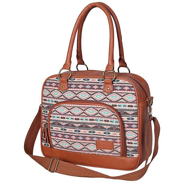 Школьная сумка Target Collection Africa 3Школьные сумки<br>Характеристики:<br><br>• возраст от: 6 лет;<br>• цвет: коричневый/серый;<br>• материал: полиэстер, эко-кожа<br>• размер сумки: 30х35х13 см.;<br>• объем: маленький ( до 20 л.);<br>• вес: 1 кг;<br>• тип: повседневный;<br>• ососбенности: наплечный ремень;<br>• тип застёжки: молния;<br>• количество отделений: 1 отделение;<br>• 1 накладной карма;<br>• 2 ручки;<br>• износостойкая обивка выдержит любую погоду и прослужит не один год;<br>• стильный дизайн;<br>• бренд, страна бренда: Target Collection, Словения.<br><br>Городская сумка AFRICA 3 от Target Collection выполнена из современных, прочных материалов. Модель украшена вставками и ремешками из эко-кожи. У нее одно большое отделения, а на внешней стороне сумки расположен большой накладной карман на молнии. Имеется дополнительный плечевой ремень.<br><br>Легкая и практичная сумка выполнена в яркой комбинации цветов, она станет не только стильным аксессуаром, но и надежным спутником во время путешествий и повседневной носке. Сумка износостойкая, легко чистится, быстро сохнет и не требует бережного ухода.<br><br>Городскую сумку AFRICA 3 от Target Collection , коричневый/серый, можно купить в нашем интернет-магазине.<br>Ширина мм: 300; Глубина мм: 350; Высота мм: 130; Вес г: 1000; Цвет: grau/braun; Возраст от месяцев: 72; Возраст до месяцев: 192; Пол: Женский; Возраст: Детский; SKU: 8392535;