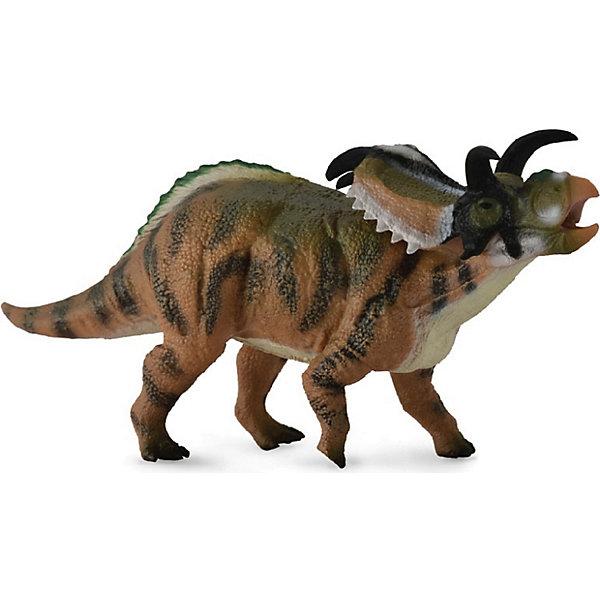 Collecta Коллекционная фигурка Collecta Медузацератопс, L collecta коллекционная фигурка collecta метриакантозавр l