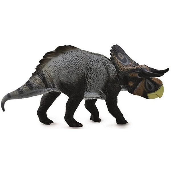 Collecta Коллекционная фигурка Collecta Насутосератопс, L collecta коллекционная фигурка collecta тираннозавр с подвижной челюстью