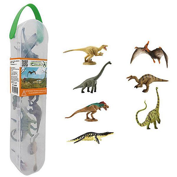 Collecta Набор коллекционных фигурок Collecta Динозавры 2 игровые фигурки gulliver collecta динозавр трицератопс 1 40