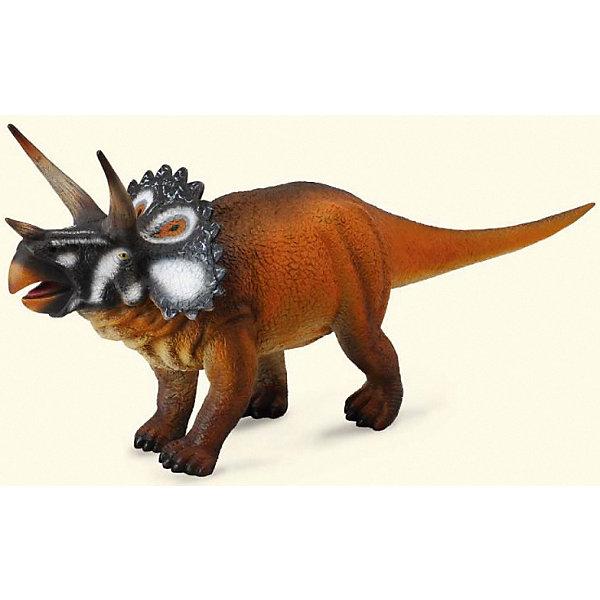 Collecta Коллекционная фигурка Collecta Трицераптос, 1:40 игровые фигурки gulliver collecta динозавр трицератопс 1 40