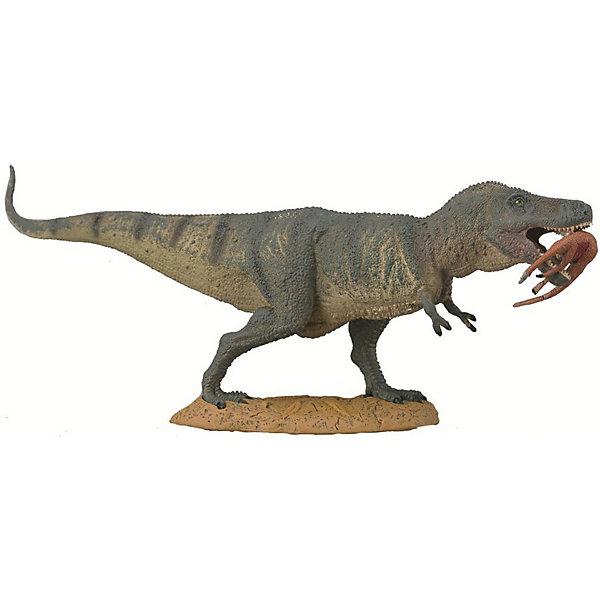 Collecta Коллекционная фигурка Collecta Тиранозавр Рекс с добычей, XL игровые фигурки gulliver collecta динозавр регалицератопс xl