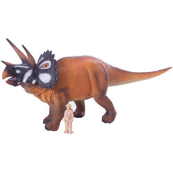 Collecta Коллекционная фигурка Collecta Трицераптос, 1:40 collecta коллекционная фигурка collecta тираннозавр с подвижной челюстью