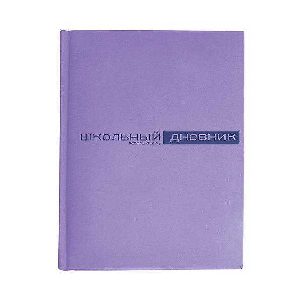 Дневник школьный Альт «Velvet», фиолетовыйДневники<br>Характеристики:<br><br>• возраст: от 6 лет;<br>• цвет: фиолетовый;<br>• обложка: искусственная кожа;<br>• количество листов: 48;<br>• бумага: офсет 70г/кв. м;<br>• переплет: твердый;<br>• параметры: 22х17 см;<br>• размер упаковки: 22,2х17,2х1,5 см;<br>• вес в упаковке: 292 гр;<br>• страна бренда: Россия.<br><br>Дневник школьный Альт «Velvet» (Вельвет) выпускается в твердой износостойкой обложке с прорезиненной фактурой. Надпись Дневник на лицевой стороне выполнена с помощью термотиснения, придающего надписям рельефность. Угол обложки и блока закругленные. <br><br>Страницы внутреннего блока сделаны из высококачественной тонированной бежевой бумаги высокой плотности. На первом форзаце обложки находится отдельное поле для личных данных ученика.<br><br>Для удобства ученика предусмотрена тонкая закладка-ляссе в цвет обложки. В закрытом виде дневник фиксируется с помощью эластичной черной резинки. На внутреннем развороте находится конверт для записок и других мелочей.  <br><br>Дневник школьный Альт «Velvet» (Вельвет), фиолетовый можно купить в нашем интернет-магазине.<br>Ширина мм: 222; Глубина мм: 172; Высота мм: 15; Вес г: 292; Цвет: фиолетовый; Возраст от месяцев: 72; Возраст до месяцев: 2147483647; Пол: Унисекс; Возраст: Детский; SKU: 8393393;