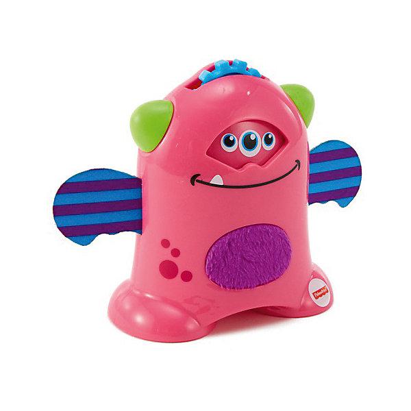 Mattel Развивающая игрушка Fisher Price Мини-монстрики, розовый