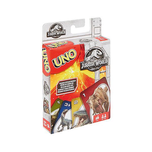 Mattel Настольная игра Games Uno Уно Парк Юрского периода