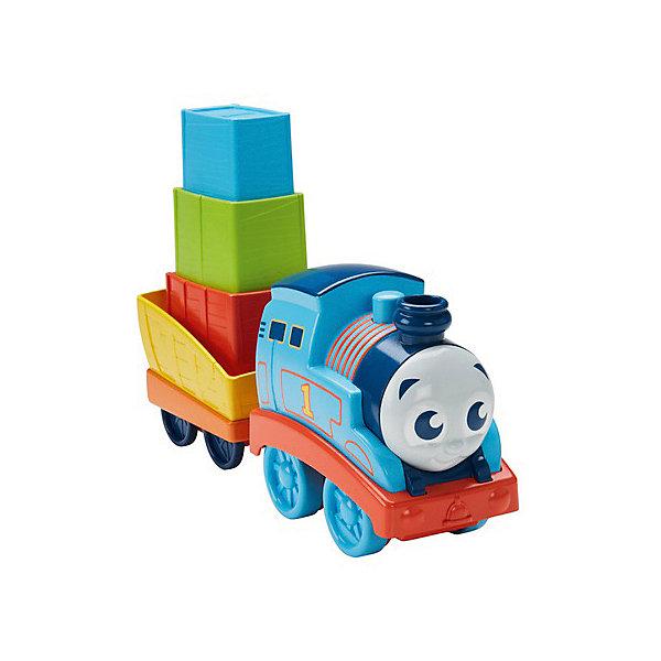 Mattel Паровозик Thomas and Friends Складывай и строй Мой первый Томас