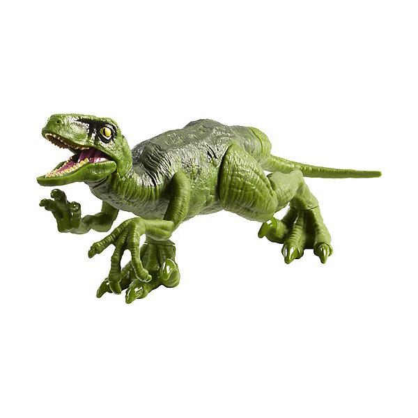 Mattel Фигурка динозавра Jurassic World Атакующая стая, Велоцираптор