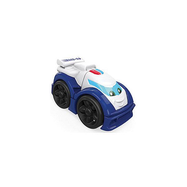 Mattel Конструктор MEGA BLOCKS Гоночные машинки, синяя soft blocks конструктор дружок 3102