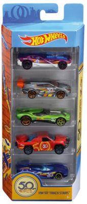 Набор машинок Hot Wheels  Юбилейный выпуск , 5 штук, артикул:8395613 - Игрушки для мальчиков