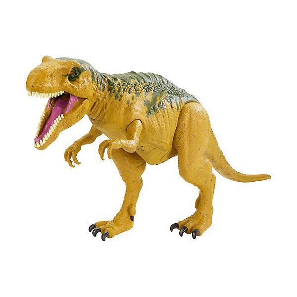 Mattel Фигурка Jurassic World Динозавры Метриакантозавр, со звуковыми эффектами mattel фигурка динозавра jurassic world мини динозавры