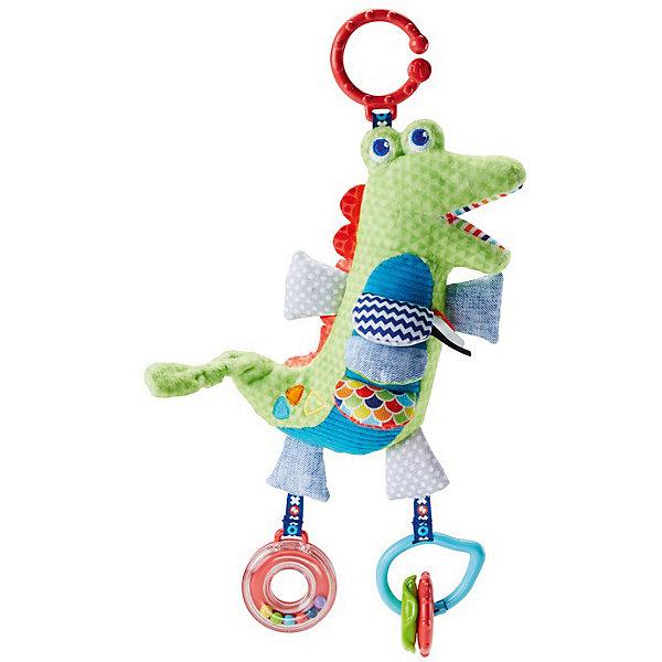 Купить Игрушка-подвеска Fisher Price Крокодил , Mattel, Китай, Унисекс