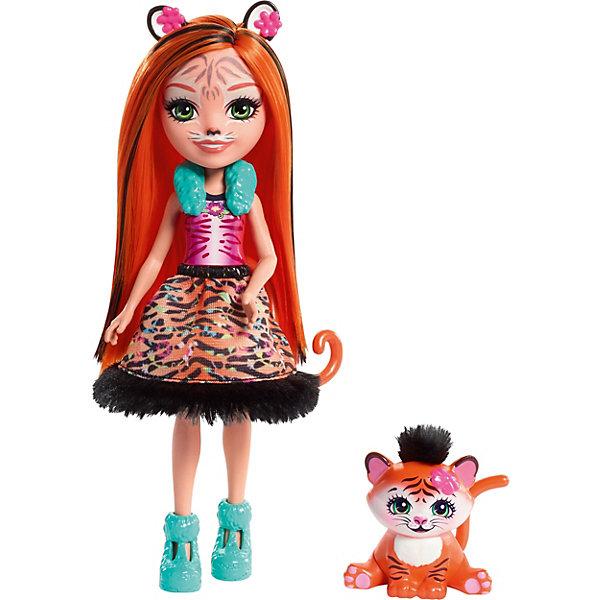 Купить Кукла Enchantimals Любимая зверюшка Тайгер и тигрёнок, Mattel, Индонезия, Женский