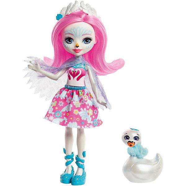 Кукла Enchantimals Любимая зверюшка Саффи Свен и СаффиМини-куклы<br>Характеристики:<br><br>• возраст: от 4 лет;<br>• материал: пластик, текстиль;<br>• высота куклы: 15 см;<br>• в наборе: кукла, фигурка питомца;<br>• вес упаковки: 90 гр.;<br>• размер упаковки: 21,5х13х5 см;<br>• страна бренда: США.<br><br>Мини-кукла Mattel Enchantimals из серии «Любимая зверюшка» выполнена в виде девочки из зачарованного леса, которая очень похожа со своим любимым питомцем. Куколка одета в красочное платье с очаровательными узорами. На ножках красуется стильная обувь, на голове украшение, а руки покрывает накидка по подобию крыльев ее птички.<br><br>У игрушки подвижные ручки, ножки и голова. Мягкие длинные волосы можно причесывать. Набор выполнен из качественных безопасных материалов.<br><br>Мини-куклу Enchantimals «Любимая зверюшка: Саффи Свен и Саффи» можно купить в нашем интернет-магазине.