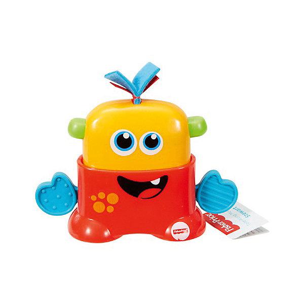 Mattel Развивающая игрушка Fisher Price Мини-монстрики, красный mattel мини игрушка бибель fisher price