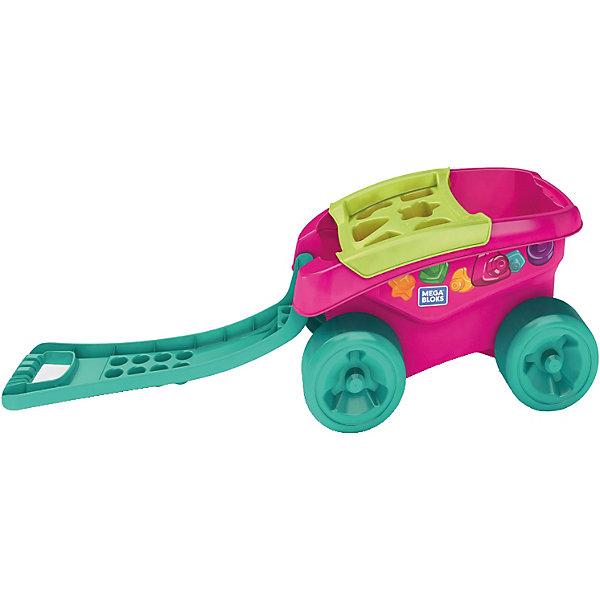 Mattel Тележка-сортер для сбора деталей (розовая) тележка багажная lm 11с