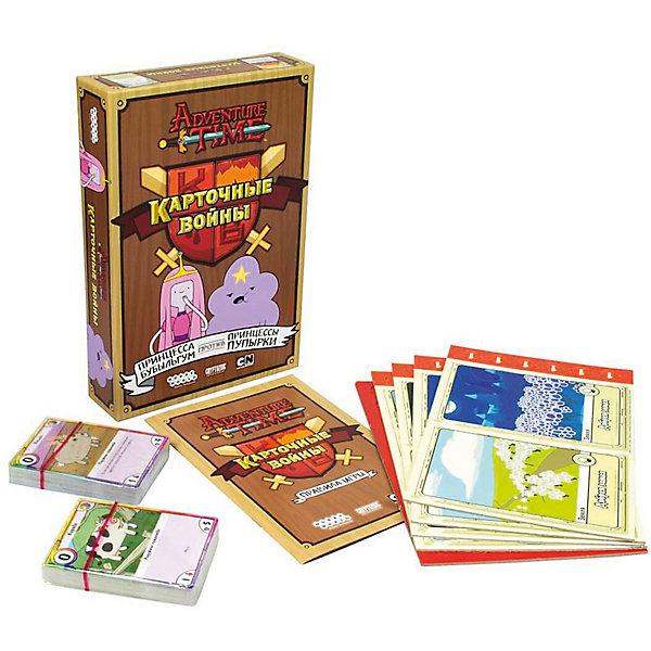 Hobby World Настольная игра Hobby World Время приключений Карточные войны. Принцесса Бубыльгум против Принцессы Пупырки настольные игры карточные
