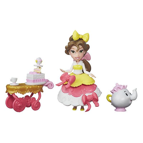 Hasbro Игровой набор с мини-куклой Disney Princess Маленькое королевство Бель sofia the first игровой набор с мини куклой принцесса эмбер и королевская арфа