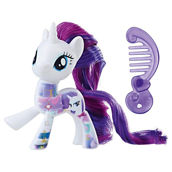 Фигурка My little Pony Пони-подружки РаритиФигурки из мультфильмов<br>Характеристики:<br><br>• возраст: от 3 лет;<br>• материал: пластик;<br>• высота фигурки: 7 см;<br>• в наборе: фигурка, аксессуар;<br>• вес упаковки: 55 гр.;<br>• размер упаковки: 4,8х12,7х15,2 см;<br>• страна бренда: США.<br><br>Фигурка Hasbro My little Pony из серии «Пони-подружки» в точности изображает героиню любимого детского мультсериала «Дружба – это чудо!». Очаровательная пони обладает ярким окрасом, большими глазками и длинной лоснящейся гривой. Гриву и хвостик можно причесывать. Голова фигурки крутится в разные стороны.<br><br>В наборе также есть аксессуар для пони. Фигурку небольшого размера удобно повсюду брать с собой. Собрав всю коллекцию серии, девочка сможет устраивать сюжетные игры. Набор выполнен из качественных безопасных материалов.<br><br>Фигурку My little Pony «Пони-подружки» Рарити можно купить в нашем интернет-магазине.<br>Ширина мм: 40; Глубина мм: 126; Высота мм: 147; Вес г: 69; Возраст от месяцев: 36; Возраст до месяцев: 84; Пол: Женский; Возраст: Детский; SKU: 8401611;