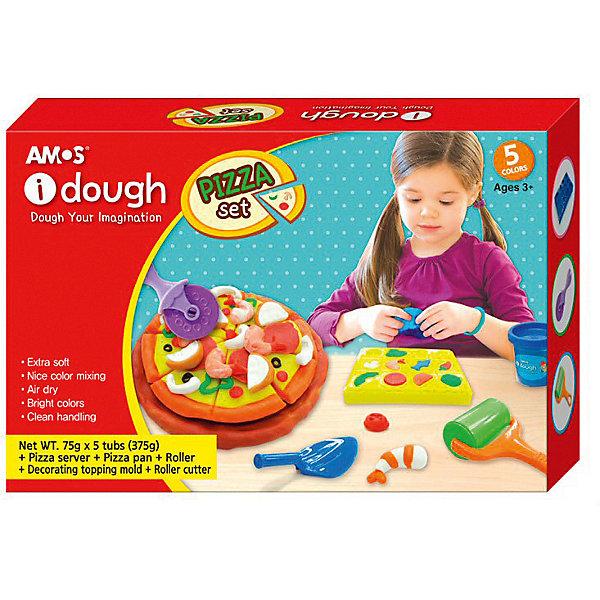 Amos Набор для лепки из теста Amos Пиццерия всё для лепки 1 toy студио набор теста для лепки тосты 4 цвета
