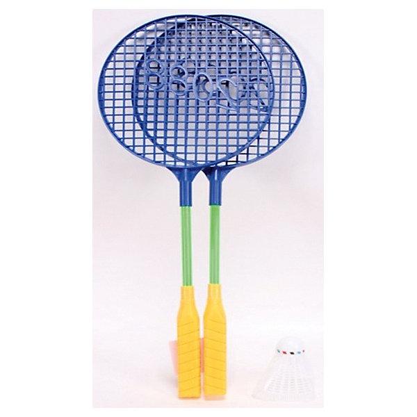 Набор для бадминтона Devik ToysБадминтон и теннис<br>Характеристики:<br><br>• возраст: от 3 лет<br>• в наборе: 2 ракетки, волан<br>• материал: пластик<br>• размер упаковки: 16х44 см.<br><br>Набор для бадминтона предназначен для игры на свежем воздухе. Он поможет весело и с пользой для здоровья провести время.<br><br>Игра в бадминтон развивает внимание, координацию движений, способствует физическому развитию и приносит массу удовольствия.<br><br>Набор для бадминтона Devik Toys можно купить в нашем интернет-магазине.<br>Ширина мм: 10; Глубина мм: 160; Высота мм: 440; Вес г: 80; Возраст от месяцев: 36; Возраст до месяцев: 2147483647; Пол: Унисекс; Возраст: Детский; SKU: 8402807;