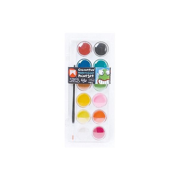 Акварельные краски Micador, 12 цветовКраски<br>Характеристики товара:<br><br>• возраст: от 3 лет;<br>• состав: воск, дерево;<br>• консистенция краски: краска, пластик, синтетическмй материал;<br>• тип краски: акварель;<br>• количество: 12 шт;<br>• комплект: набор красок, кисточка;<br>• размер упаковки: 1,5х0,7х0,3 см.;<br>• вес: 540 гр.;<br>• упаковка: пластмассовый пенал.<br><br>Краски акварельные идеально подойдут для детского художественного творчества, изобразительных и оформительских работ.<br><br>Благодаря краскам с высокой пигментацией рисунки даже после высыхания остаются яркими. <br><br>Цвета: Тиффани, клубничный сорбет, лавандовое поле, крыши Санторини, черничный чизкейк и другие.<br><br>Удобная упаковка позволит брать краски с собой повсюду. <br><br>Краски легко смываются водой.<br><br>В процессе рисования у детей развивается наглядно-образное мышление, воображение, мелкая моторика рук, творческие и художественные способности, вырабатывается усидчивость и аккуратность. <br><br>Не содержат токсичных веществ, полностью безопасны для детей. <br><br>Стильные акварельные краски можно купить в нашем интернет-магазине.<br>Ширина мм: 16; Глубина мм: 7; Высота мм: 3; Вес г: 540; Цвет: разноцветный; Возраст от месяцев: 36; Возраст до месяцев: 2147483647; Пол: Унисекс; Возраст: Детский; SKU: 8417566;