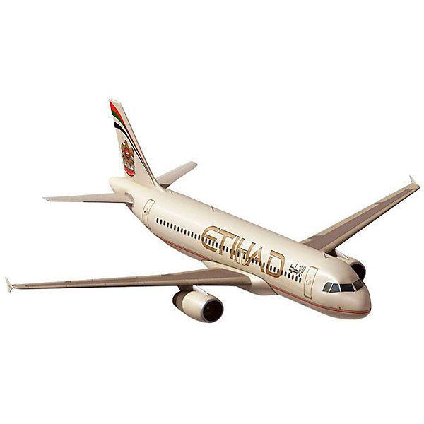 Revell Сборная модель Revell Пассажирский самолёт Airbus A320 авиакомпании Etihad Airways с красками самолеты и вертолеты revell сборная модель сборная модель пассажирский самолет dhc 6 twin otter 1 72