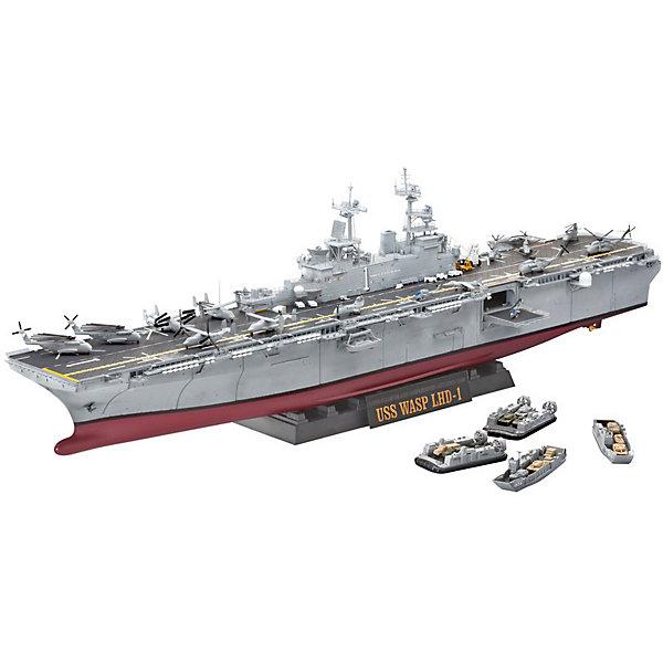 Revell Сборная модель Корабль U.S.S. Wasp Class