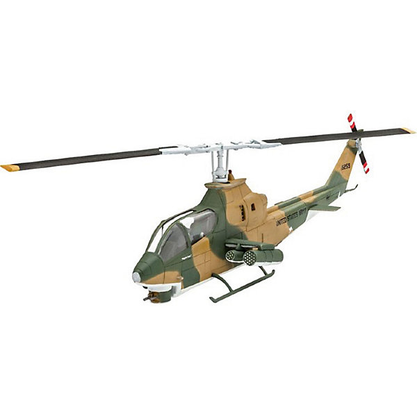 "Revell Сборная модель Revell ""Американский ударный вертолёт Bell AH-1G Cobra"""