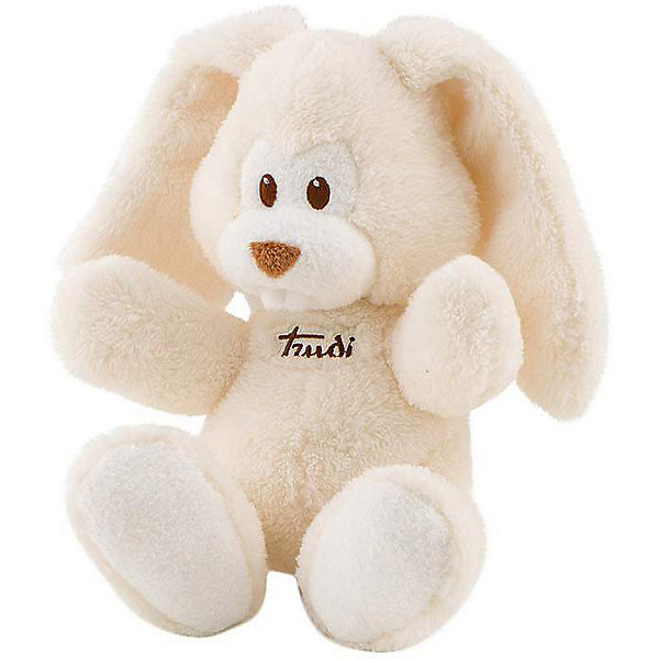 Trudi Мягкая игрушка Trudi Заяц Вирджилио 26 см, кремовый цена