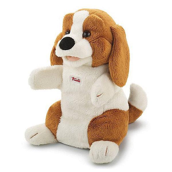 Trudi Мягкая игрушка на рукуTrudi Собачка, 25 см мягкая игрушка собачка мила в платье 23см цвет бежевый