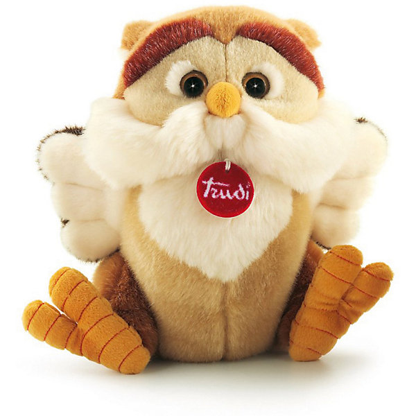 Trudi Мягкая игрушка Trudi Филин Реналдо, 36 см мягкая игрушка trudi котёнок брэд